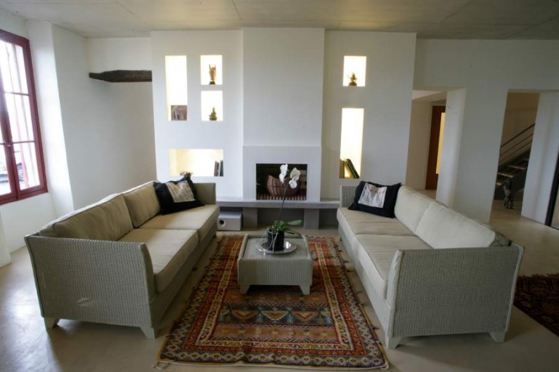 Location de vacances - Maison - Villa à Ménerbes - Salon