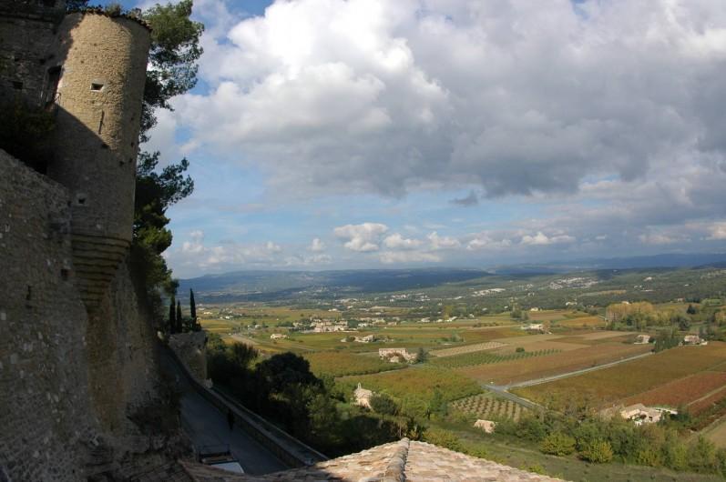 Location de vacances - Maison - Villa à Ménerbes - La vue de notre terrasse panoramique
