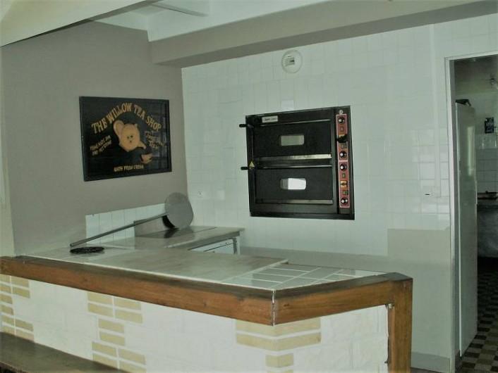 Location de vacances - Gîte à Saint-Aubin-sur-Mer - four à pizza