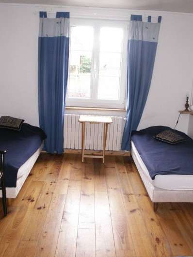 Location de vacances - Gîte à Saint-Aubin-sur-Mer - chambre 1