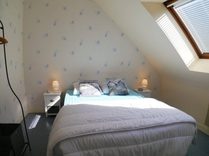 Location de vacances - Maison - Villa à Fouesnant - Chambre 2 à l'étage