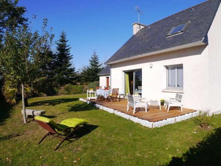 Location de vacances - Maison - Villa à Fouesnant - Maison avec jardin et terrasse