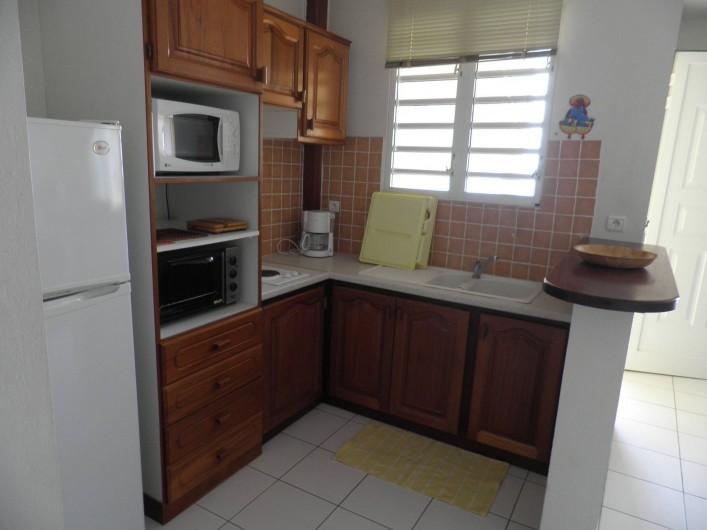 Location de vacances - Appartement à Les Anses-d'Arlet - Coin cuisine
