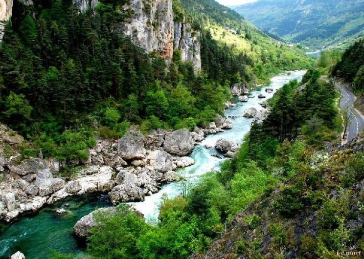 Location de vacances - Gîte à Millau - Les Gorges de la Jonte