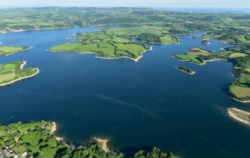 Location de vacances - Gîte à Millau - Les lacs de Lévézou