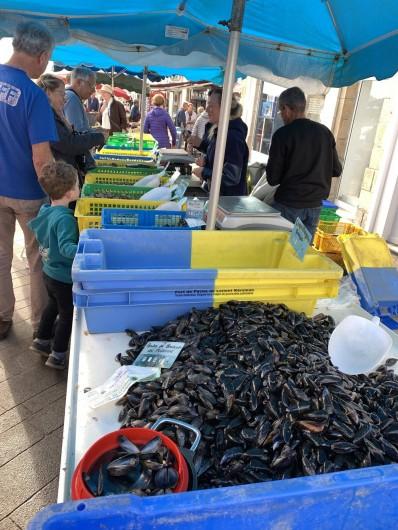 Location de vacances - Villa à Audierne - Le marché du samedi matin est un festival gustatif