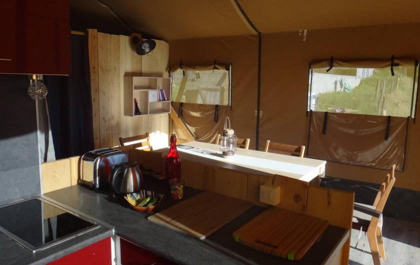 Location de vacances - Gîte à Chirols - La cuisine