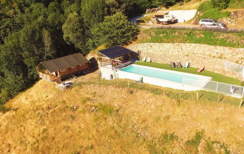 Location de vacances - Gîte à Chirols - Vue d'ensemble