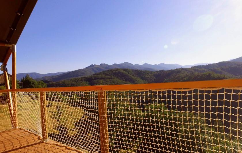 Location de vacances - Gîte à Chirols - Depuis la terrasse