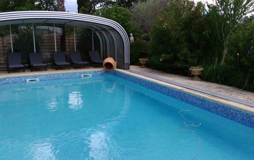 Location de vacances - Maison - Villa à Manosque - Vue piscine