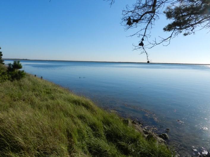Location de vacances - Gîte à Plouhinec - Vue sur la petite mer