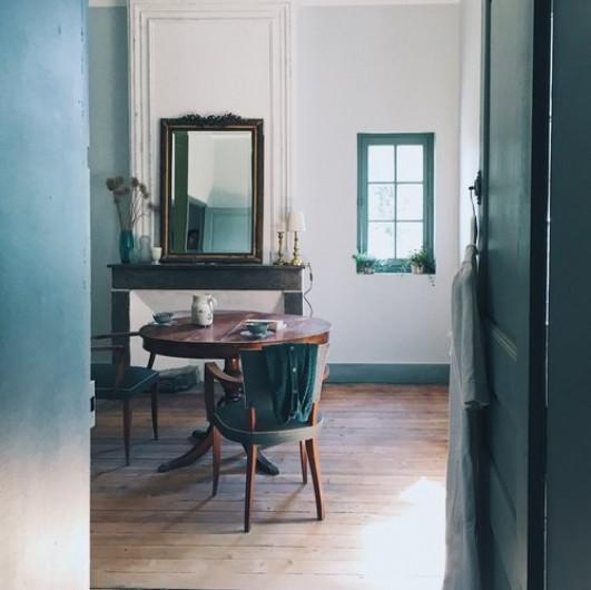 Location de vacances - Gîte à Uchaux - Vue de la pièce à vivre
