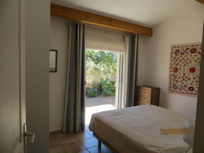 Location de vacances - Villa à San-Gavino-Di-Carbini - La chambre parentale