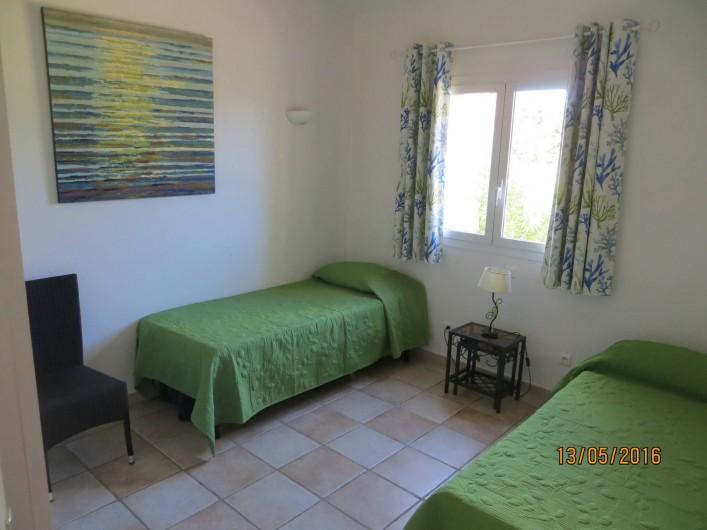 Location de vacances - Villa à San-Gavino-Di-Carbini - La seconde chambre