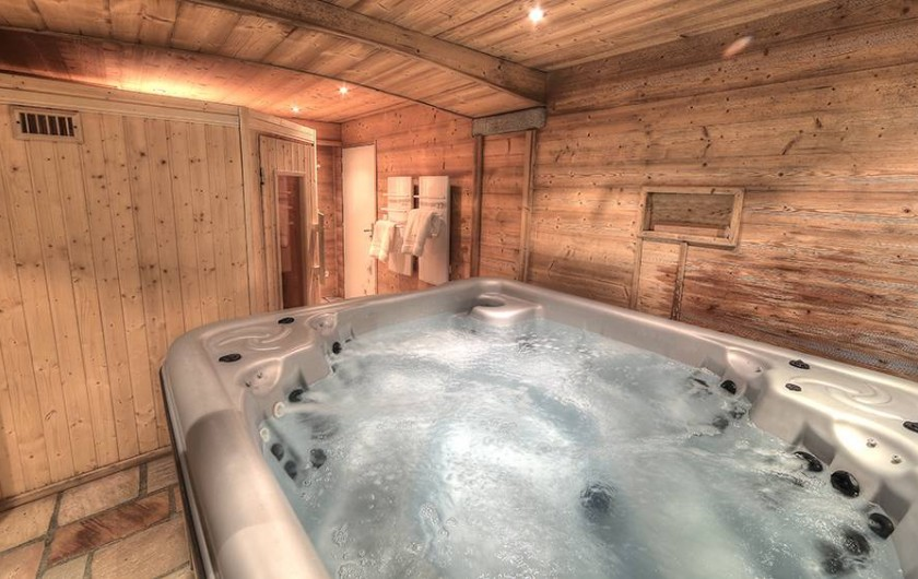Location de vacances - Appartement à Courchevel - spa