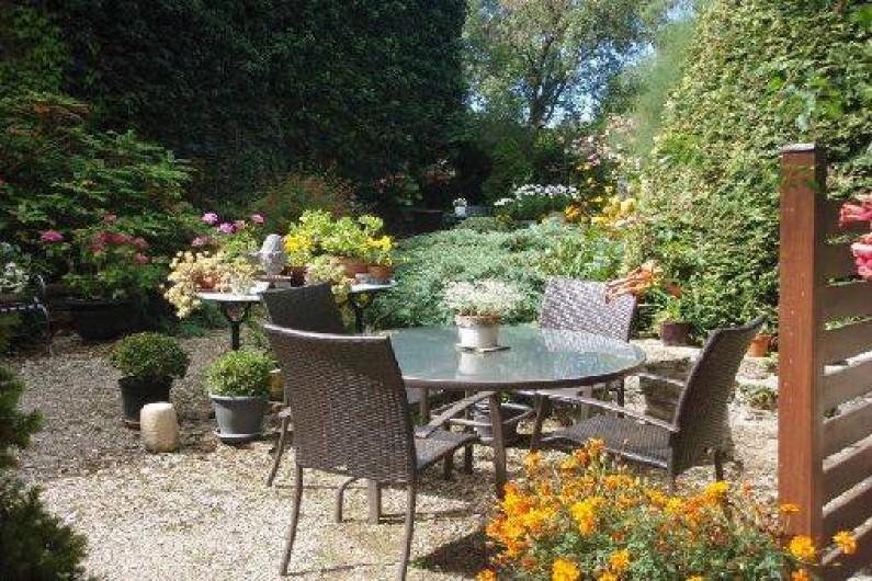 Location de vacances - Gîte à Sancey-le-Grand - la terrasse 1