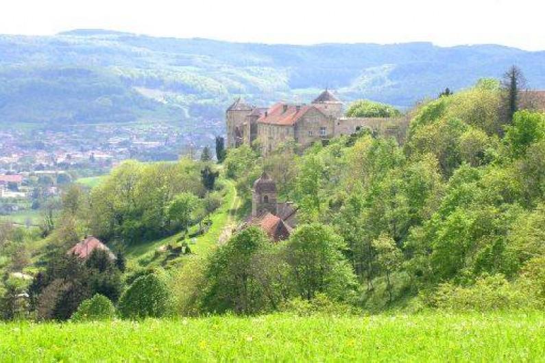 Location de vacances - Gîte à Sancey-le-Grand - à 5 mn le château et le village médiéval de Belvoir