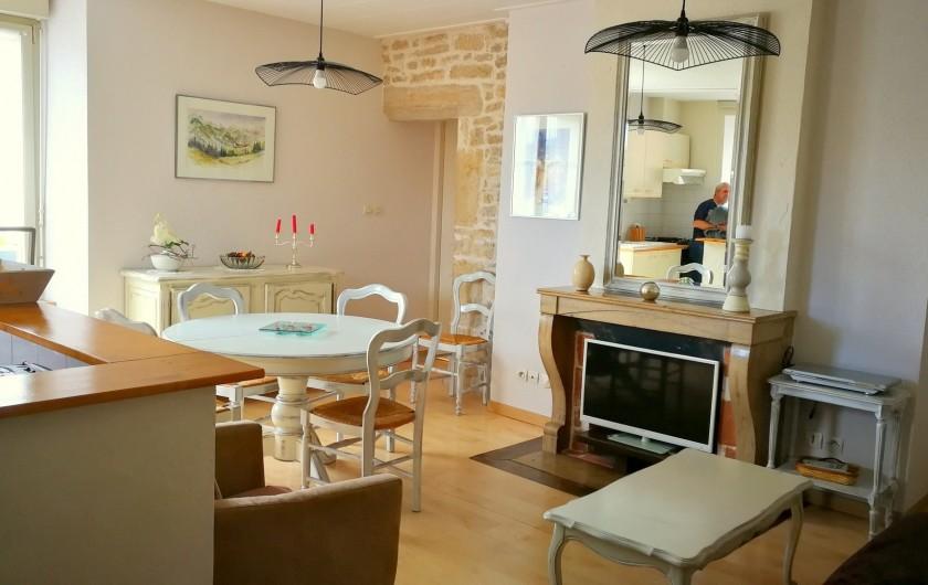 Location de vacances - Gîte à Sancey-le-Grand - le séjour gite Charme 4*  2 à 4 personnes