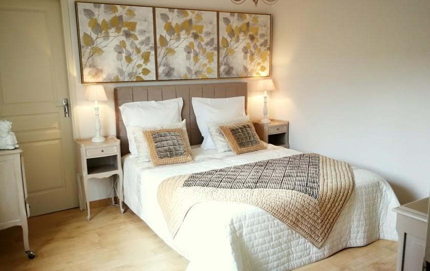Location de vacances - Gîte à Sancey-le-Grand - la chambre gite Charme 4*  2 à 4 personnes