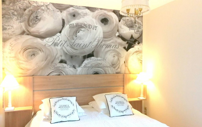 Location de vacances - Gîte à Sancey-le-Grand - la chambre  gite Romance 3*  2 personnes