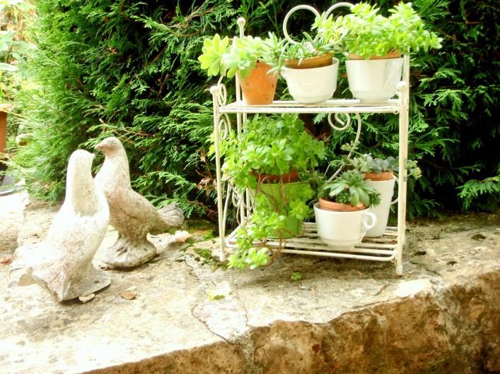 Location de vacances - Gîte à Sancey-le-Grand - au jardin