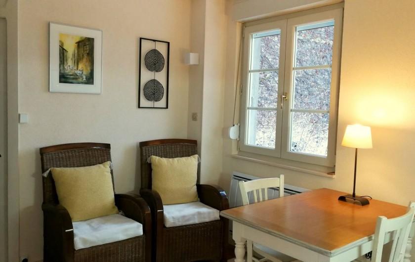 Location de vacances - Gîte à Sancey-le-Grand - le séjour  gite Romance 3*  2 personnes