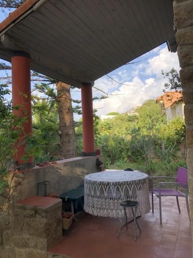 Location de vacances - Maison - Villa à Ajaccio - Veranda