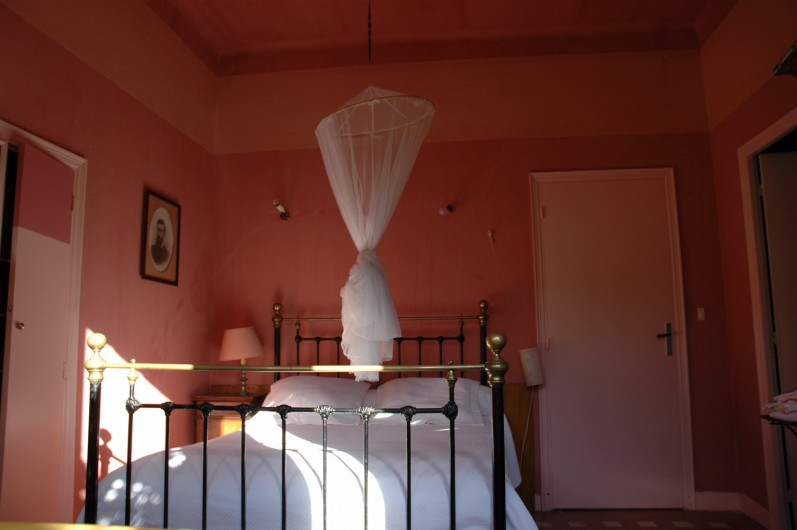 Location de vacances - Maison - Villa à Ajaccio - Chambre rose