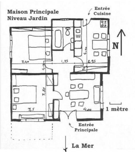 Location de vacances - Maison - Villa à Ajaccio - Plan