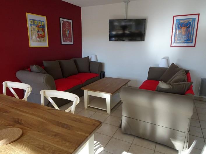 Location de vacances - Appartement à Aigues-Mortes - Salon