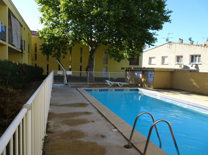Location de vacances - Appartement à Aigues-Mortes - Piscine