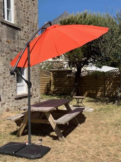 Location de vacances - Gîte à Quinéville - Jardin privatif