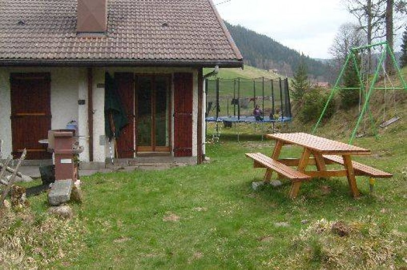Location de vacances - Chalet à Le Grand Valtin