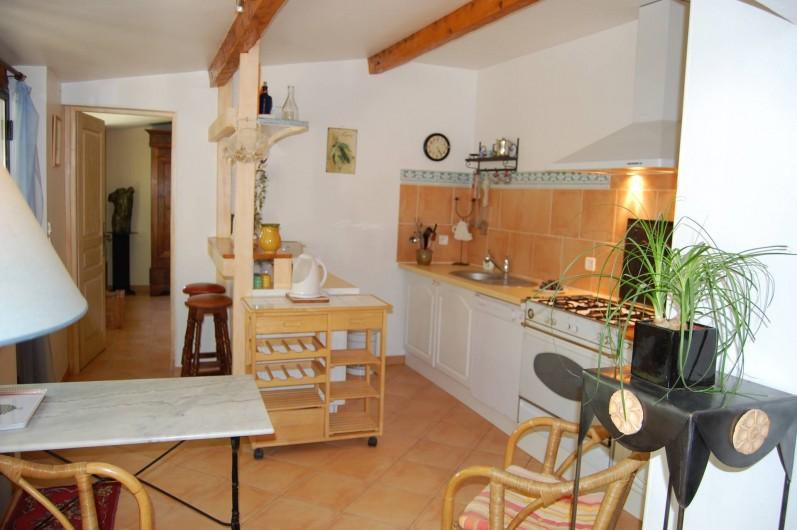 Location de vacances - Gîte à Aubignan - cuisine