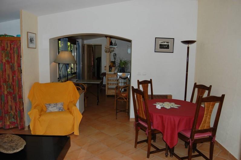 Location de vacances - Gîte à Aubignan - séjour