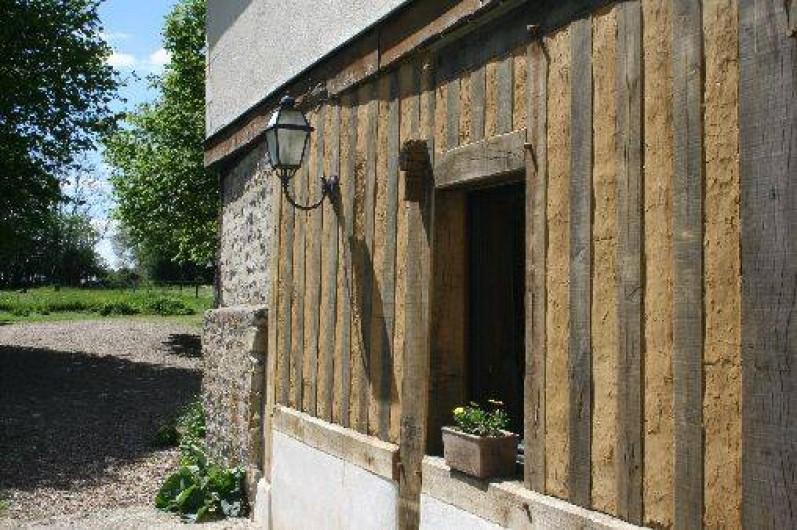 Location de vacances - Gîte à Pont-l'Évêque - Façade pan de bois traditionnel
