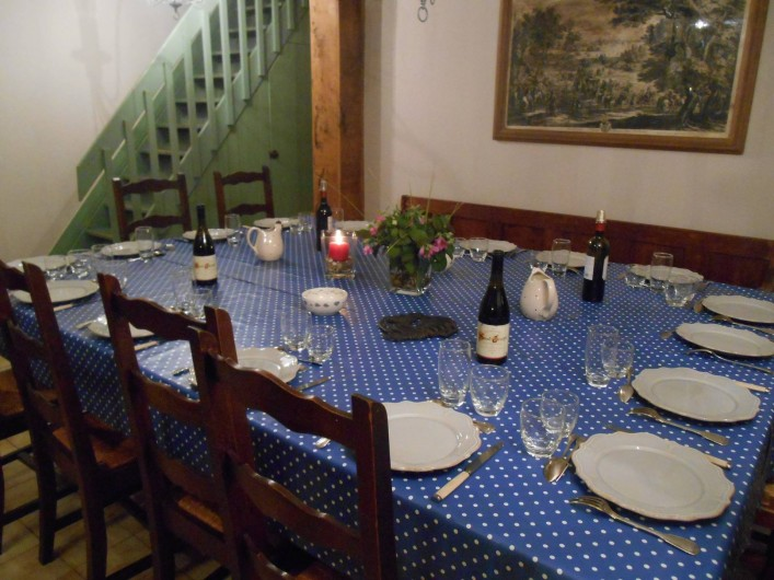 Location de vacances - Gîte à Pont-l'Évêque - Salle à manger