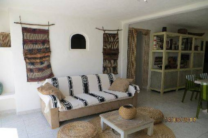 Location de vacances - Appartement à Banyuls-sur-Mer - salon