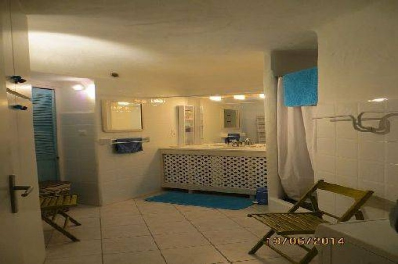 Location de vacances - Appartement à Banyuls-sur-Mer - salle d'eau