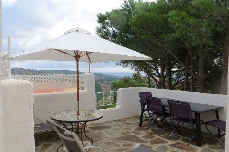 Location de vacances - Appartement à Banyuls-sur-Mer - deuxième terrasse