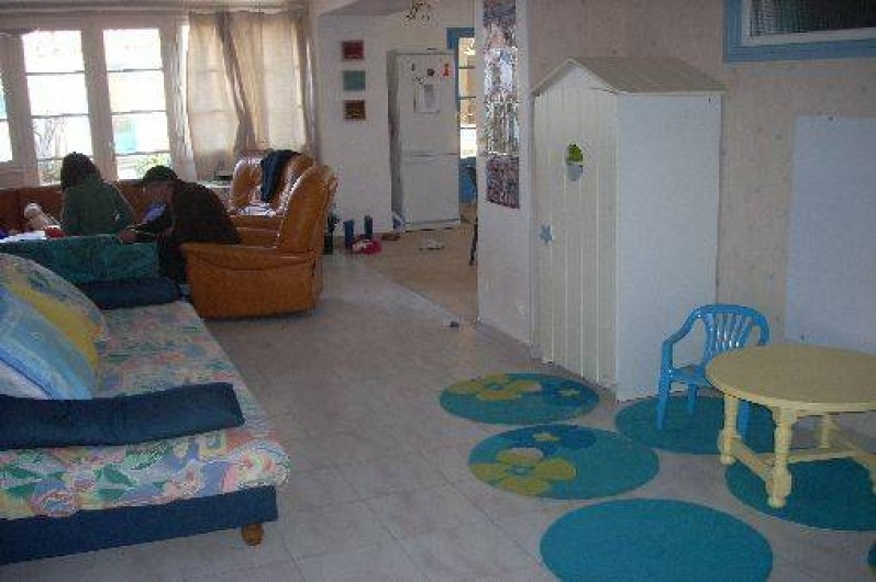 Location de vacances - Maison - Villa à Dolus-d'Oléron - salle de jeux et salon communiquants