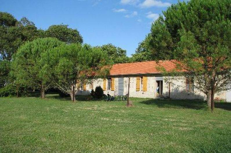 Location de vacances - Gîte à Saint-Vivien-de-Médoc - vue gites côté arrière