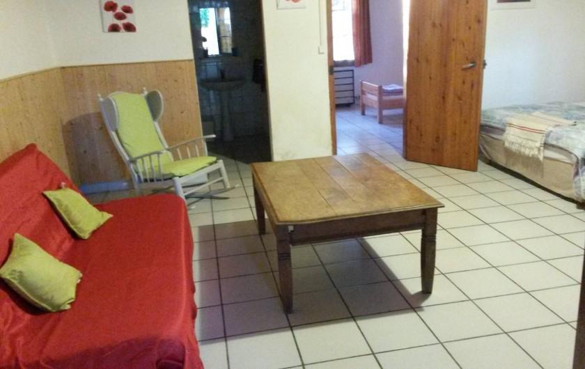 Location de vacances - Gîte à Saint-Vivien-de-Médoc - séjour gite 3