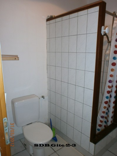 Location de vacances - Gîte à Saint-Vivien-de-Médoc - salle d'eau gite 2 idem 3