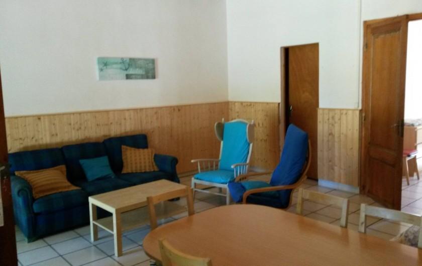 Location de vacances - Gîte à Saint-Vivien-de-Médoc - vue séjour gite 2