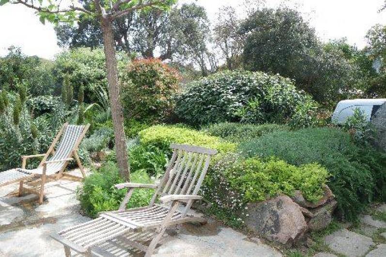 Location de vacances - Villa à Porto-Vecchio - jardin/terrasse