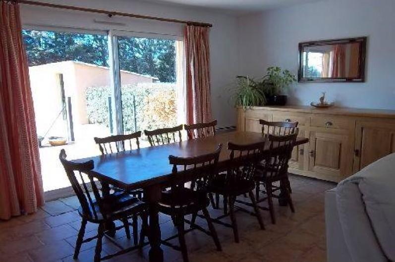 Location de vacances - Villa à Cotignac - Salle à manger