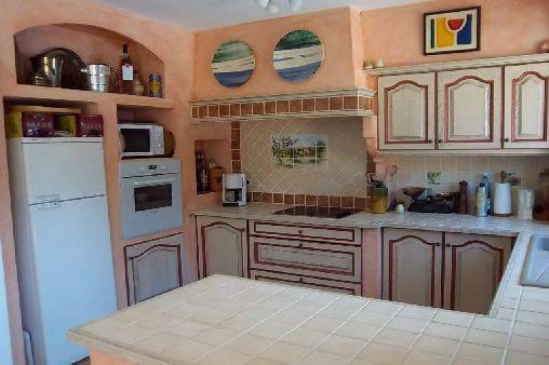 Location de vacances - Villa à Cotignac - Cuisine