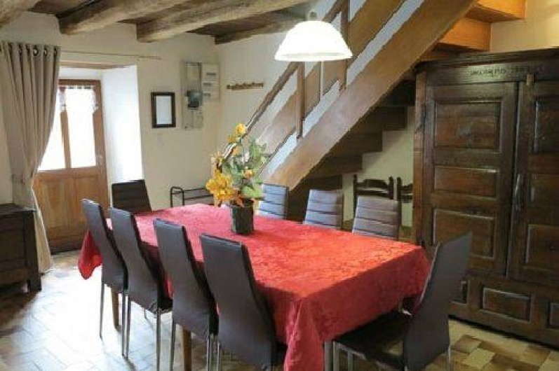 Location de vacances - Gîte à Saint-Pierre-de-Nogaret - Salle à Manger