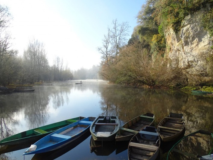 Location de vacances - Gîte à Carsac-Aillac - Un bras de la Dordogne à AILLAC 2km du gîte